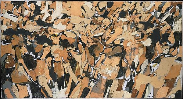 Wikioo.org - The Encyclopedia of Fine Arts - Painting, Artwork by Conrad Marca Relli - The Battle