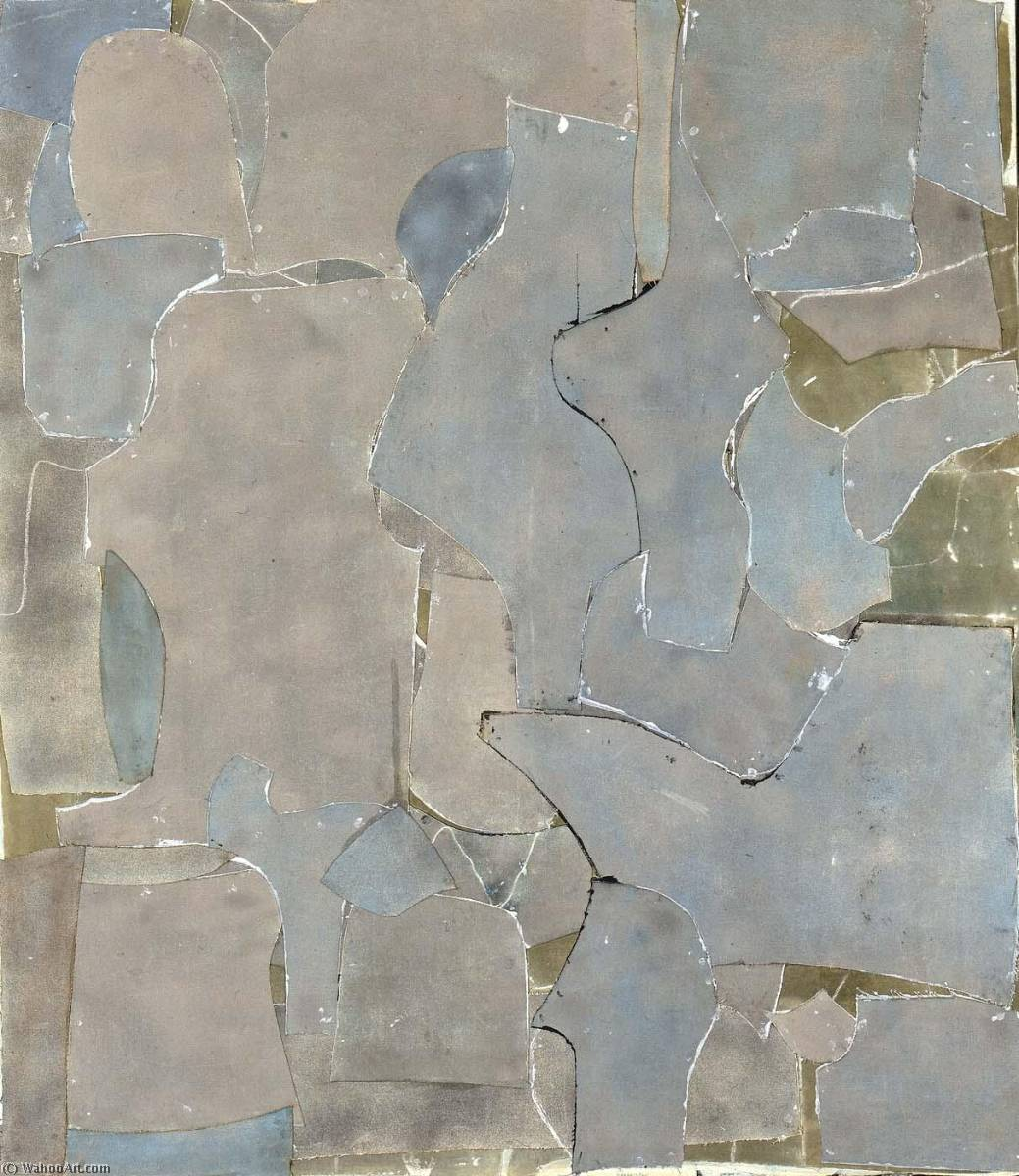 Wikioo.org - The Encyclopedia of Fine Arts - Painting, Artwork by Conrad Marca Relli - Steel Grey