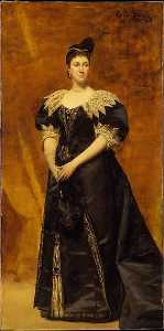 Mrs. William Astor (Caroline Webster Schermerhorn, 1831 1908)