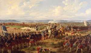 The Battle of Fontenoy, 1745 The French and the Allies Confronting Each Other