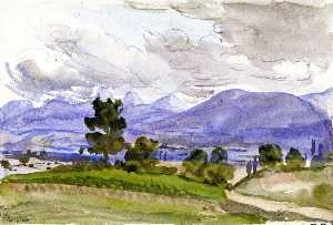 Landscape Showing the Environs of Divonne