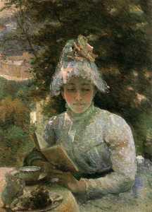 Tea Time (Portrait of Louise Quivoron)