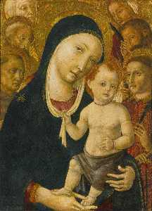 The Madonna and Child with six saints