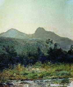 Mount Sedlo in the Outskirts of Kislovodsk