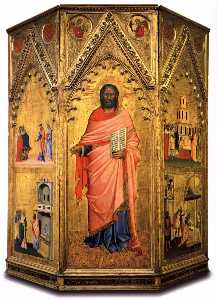 Saint Matthew and Scenes from his Life