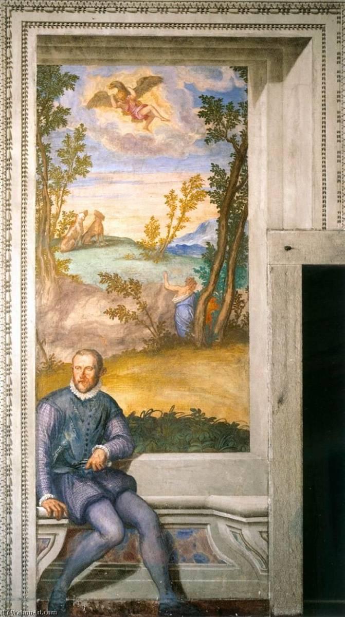 Wikioo.org - The Encyclopedia of Fine Arts - Painting, Artwork by Givanni Battista Zelotti - Girolamo Godi