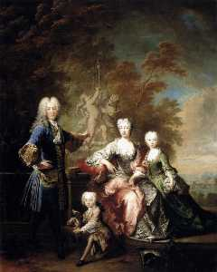 Count Ferdinand Adolf von Plettenberg and his Family