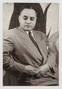 Ralph Bunche, from the portfolio O Write My Name American Portraits, Harlem Heroes