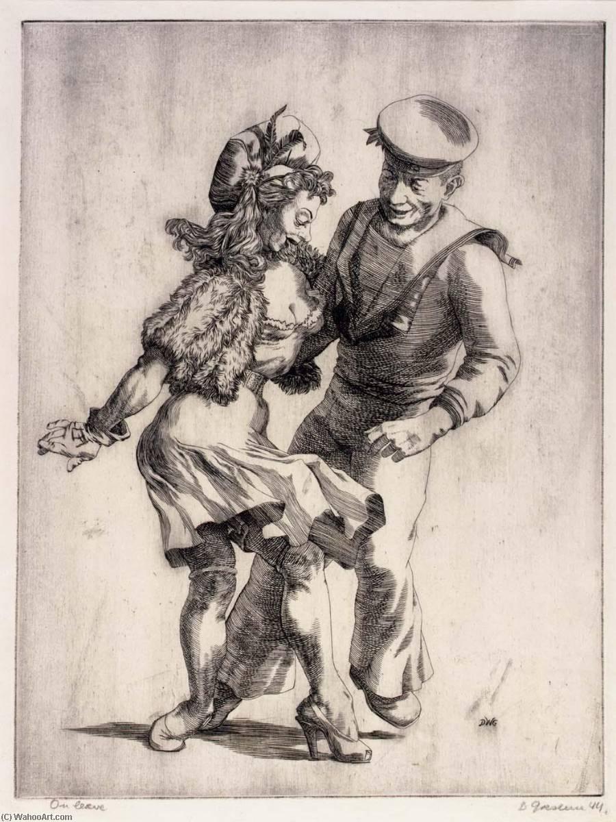 WikiOO.org - Енциклопедія образотворчого мистецтва - Живопис, Картини  Douglas W Gorsline - On Leave