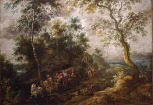Landscape with a Cart