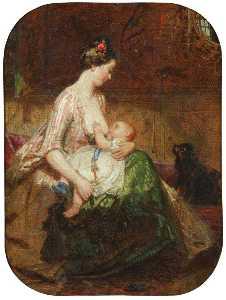 молодой Мать