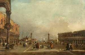 Venecia la piazzetta di san marcos