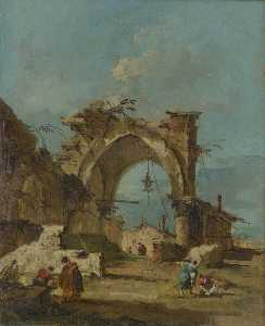 A Caprice with a Ruined Arch