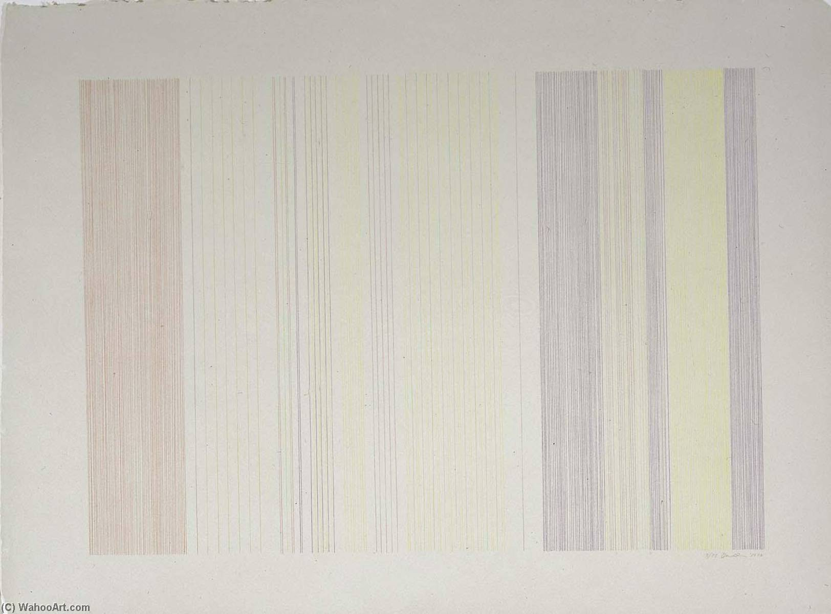WikiOO.org - Енциклопедія образотворчого мистецтва - Живопис, Картини  Gene Davis - Home Run