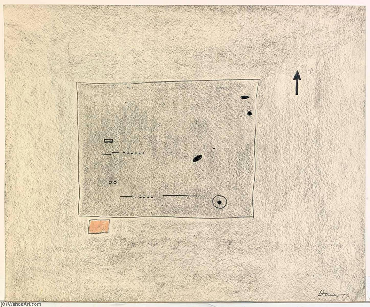 WikiOO.org - Енциклопедія образотворчого мистецтва - Живопис, Картини  Gene Davis - Toy Box