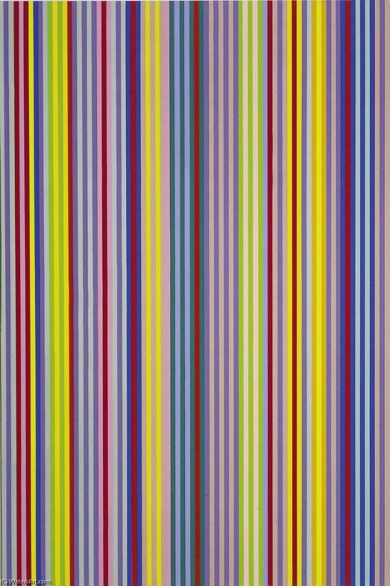WikiOO.org - Енциклопедія образотворчого мистецтва - Живопис, Картини  Gene Davis - Battle for Grown Ups, from the portfolio Series II