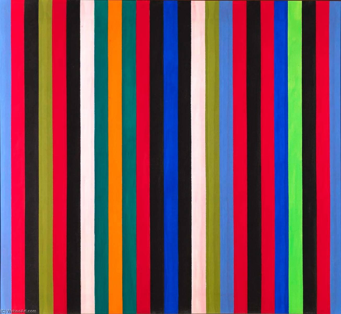 WikiOO.org - Енциклопедія образотворчого мистецтва - Живопис, Картини  Gene Davis - Hot Beat