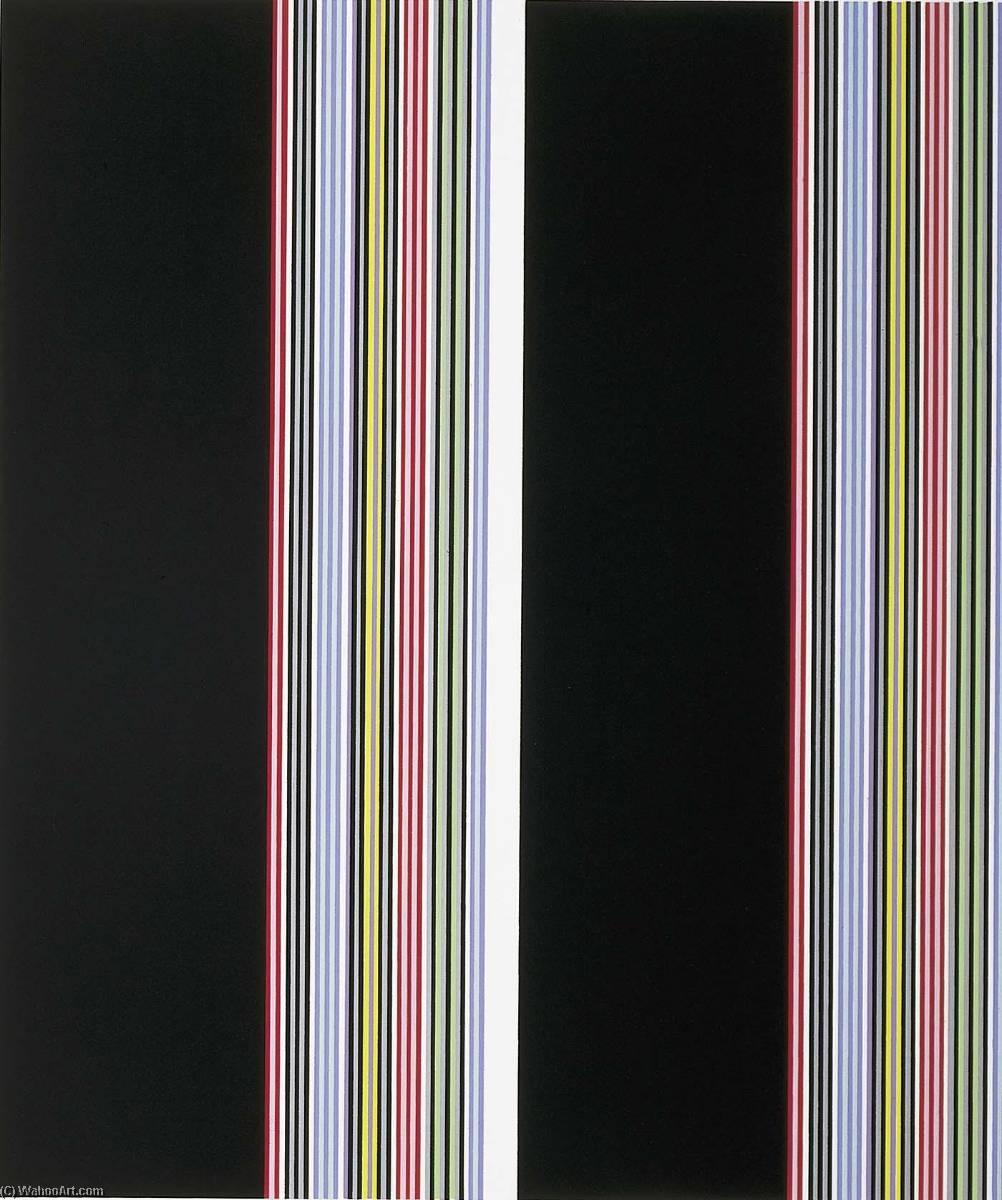WikiOO.org - Енциклопедія образотворчого мистецтва - Живопис, Картини  Gene Davis - Smithsonian Resident Associates Program 1985 (20th anniversary poster)