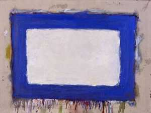Blue Rectangle II