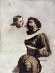 Soudard et femme