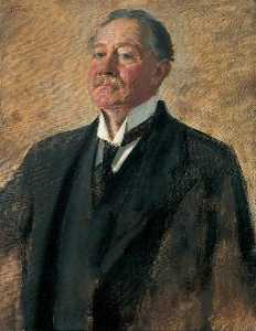 The Right Honourable Walter Cunliffe (1855–1920), Governor of the Bank of England (1913–1918)