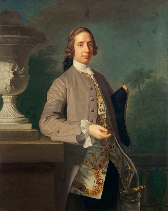 Wikioo.org - The Encyclopedia of Fine Arts - Painting, Artwork by Allan Ramsay - George Bristow (1727–1815)