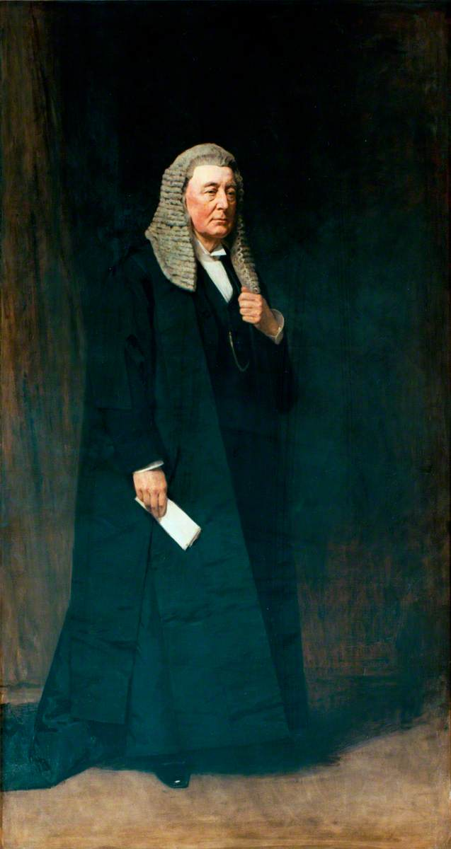 Wikioo.org - The Encyclopedia of Fine Arts - Painting, Artwork by George Reid - William Court Gully, Viscount Selby (1835–1909), Speaker