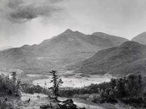 Hurricane Mountain, (painting)