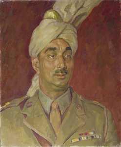 Major Mahomed Akbar Khan, Commanding Officer, 29 Mule Coy, Royal Indian Army Service Corps