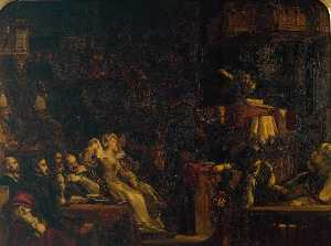 The Preaching of Knox before the Lords of the Congregation, 10th June 1559