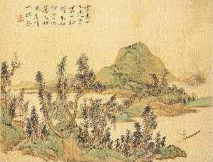 LANDSCAPE, FIGURES, AND ANIMALS