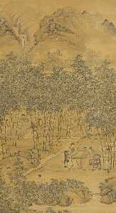 SCHOLARS' GATHERING IN THE BAMBOO GROVE