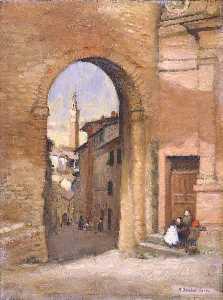 Gateway at Siena - Susan Isabel Dacre