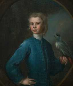 John Erskine (1712–1787), 14th of Dun, Son of Lord Dun, Aged 10
