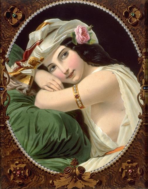 Wikioo.org - The Encyclopedia of Fine Arts - Painting, Artwork by Constant Joseph Brochart - La perle du harem