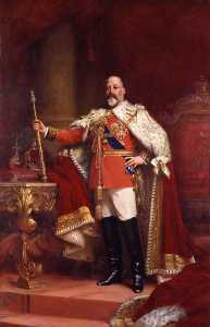 King Edward VII (replica of an original of 1902 by the artist)