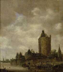 A Castle by a River