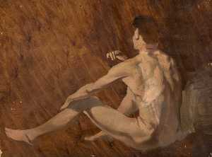 An Evening's Work by the Model from Palette