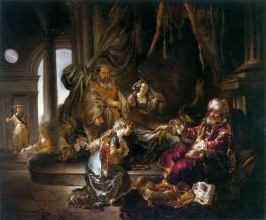 Bathsheba Makes an Appeal to King David