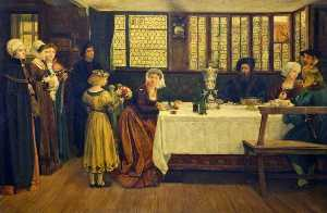 A German Birthday Party in 1575