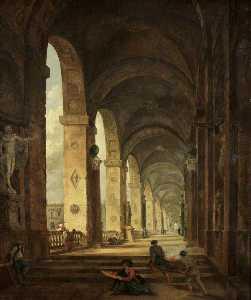 A Capriccio of Roman Architecture
