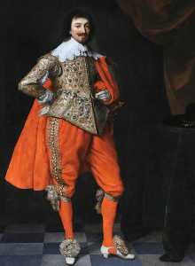 Robert Rich (1587–1658), 2nd Earl of Warwick, Aged 45