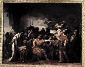 Disputa d'Agamemnon et d'Achille La coler d'Achille