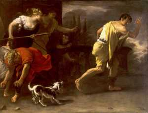 The Parable of the Prodigal Son Driven out by His Former Companions