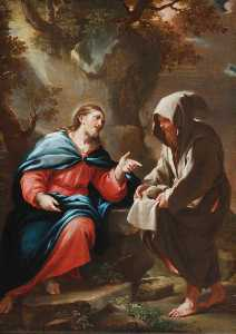 The Devil Tempting Christ to Turn Stones into Bread