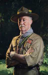 Lord Baden Powell (1857–1941), as World Chief Scout