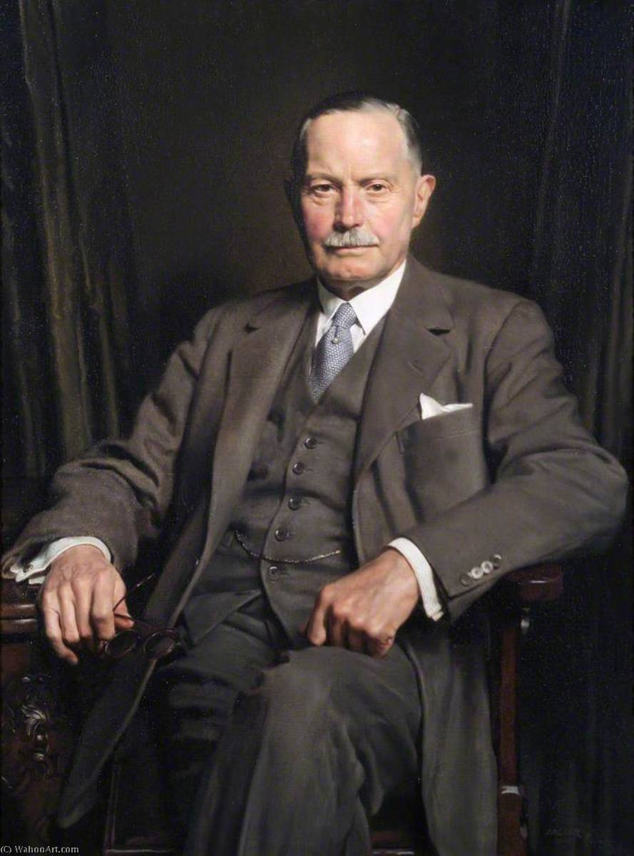 Wikioo.org - The Encyclopedia of Fine Arts - Painting, Artwork by David Jagger - Arthur Whitworth (1875–1972)
