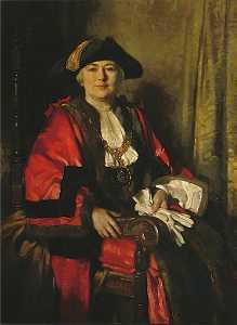 Alderman Miss Alice Hudson, JP, Mayor of Eastbourne (1925–1928 1943–1945)