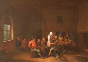 A Tavern Scene