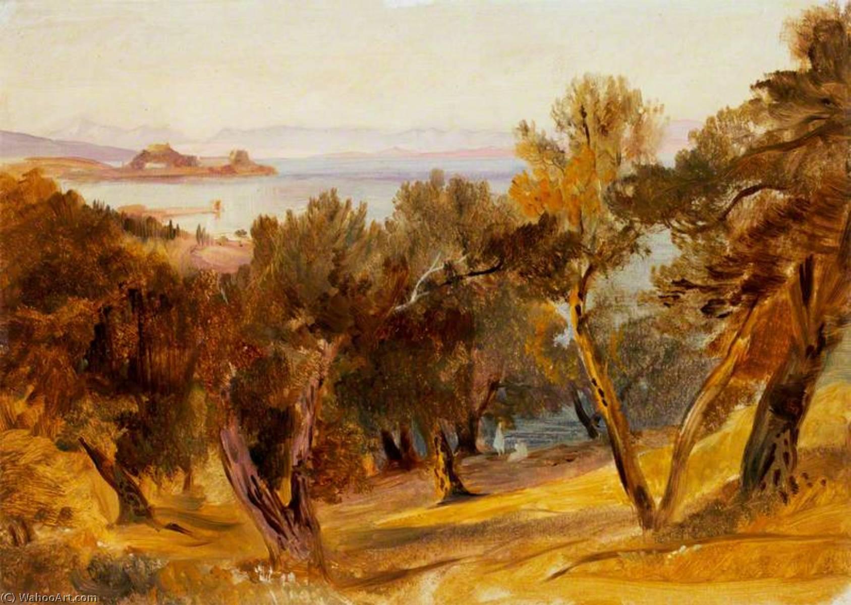 WikiOO.org - Enciclopedia of Fine Arts - Pictura, lucrări de artă Edward Lear - Corfu